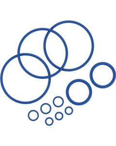 Sada těsnících kroužků obsahuje 11 těsnících kroužků různých velikostí pro Mighty vaporizér