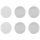 Sada malých smíšených sítek obsahuje hrubá sítka a   consists of 4 coarse screens and 2 normal screens  normální sítka, která sedí na Crafty a Mighty vaporizéry a do adaptérů dávkovací kapsle